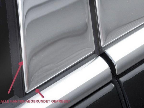 Хром молдинги дверных стоек MERCEDES ML W164 (05-11)