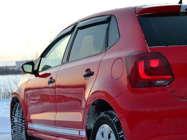 Дефлекторы окон VW Polo V (2009+) Hatchback - Niken 3