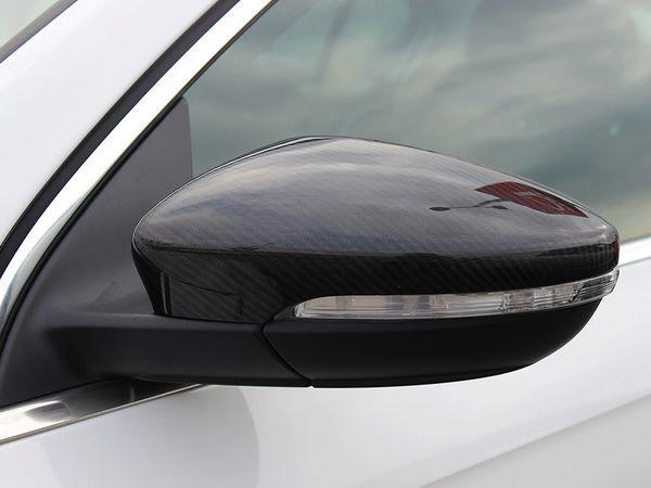 Карбоновые накладки на зеркала VW Scirocco 1