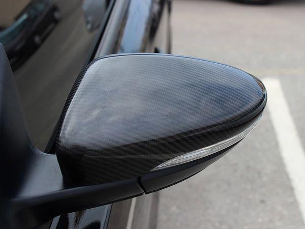 Карбоновые накладки на зеркала VW Scirocco 2