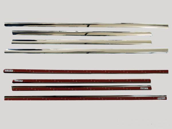 Хром нижняя окантовка стёкол MKERCEDES ML W164 (05-11)