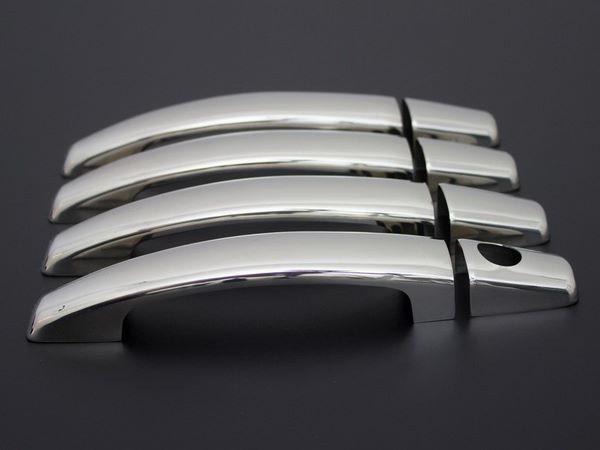 Хром накладки на ручки OPEL Corsa E 5D Hatchback 3