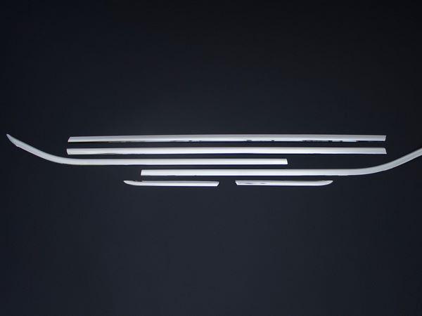 Хром нижние молдинги стёкол OPEL Corsa E 5D 4