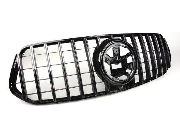 Решётка радиатора MERCEDES GLE W167 (GT стиль) 2