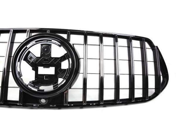 Решётка радиатора MERCEDES GLE W167 (GT стиль) 6