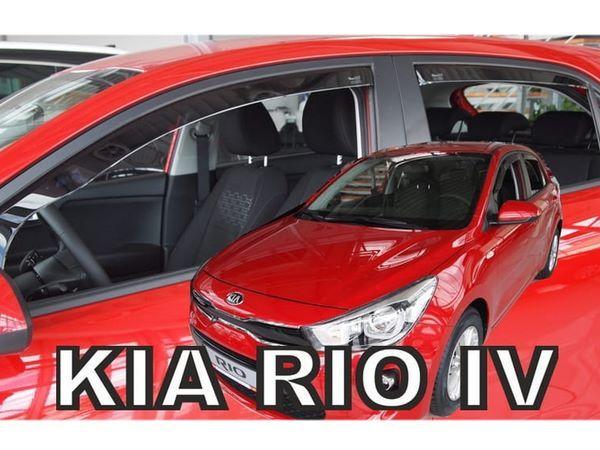 Ветровики KIA Rio IV (2017+) Hatchback - Heko 2