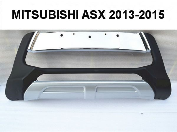 Накладка переднего бампера MITSUBISHI ASX (2013-2015) рестайлинг 4
