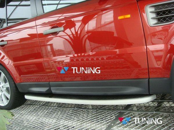 Пороги боковые Range Rover Sport (L320; 2005-2013) - OEM оригинал
