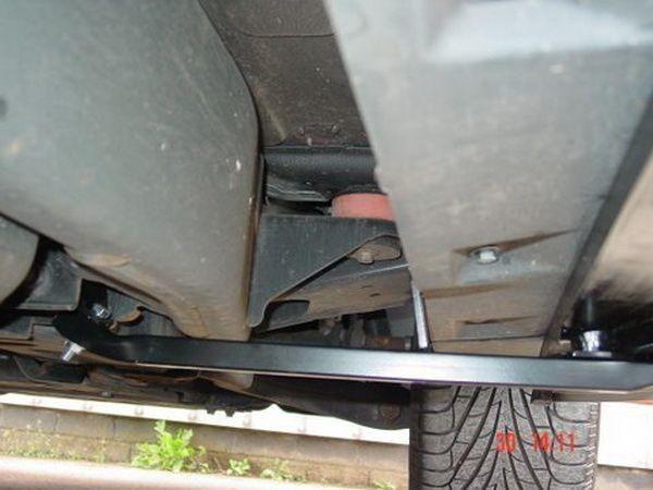 Пороги боковые Range Rover Sport (L320; 2005-2013) - OEM оригинал - установка