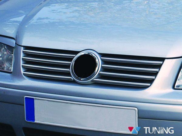 Хром накладки на решётку VW Bora A4 (98-05)