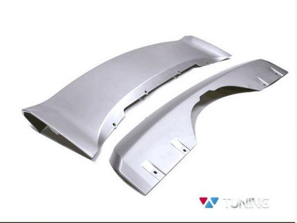 Накладки под бампера BMW X5 F15 серебряные