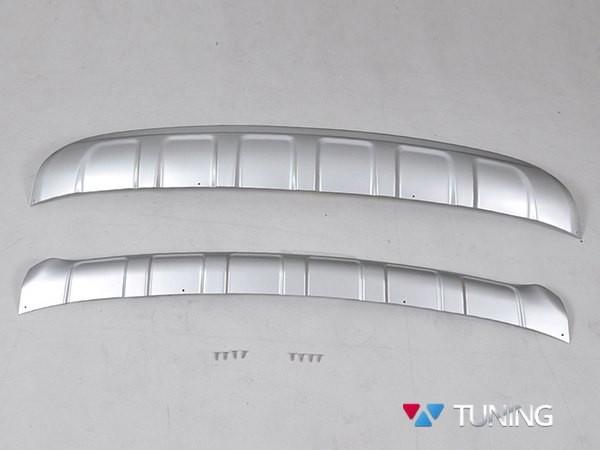 Накладка на бампер передний и задний KIA Sportage IV (2016-) - оригинал - фото #2