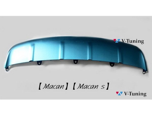 PORSCHE Macan / Macan S накладка под передний бампер