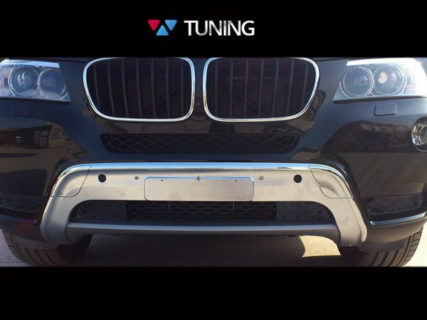 Накладка переднего бампера BMW X3 F25 (2011-2013) - фото #2