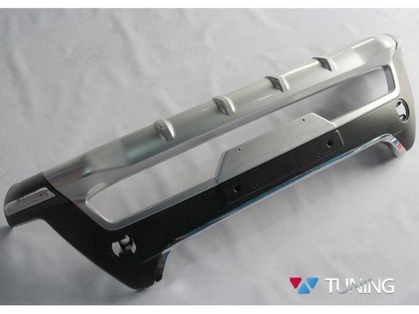Накладка на передний бампер TOYOTA Rav4 IV (2013-2015) - ABS - фото #5