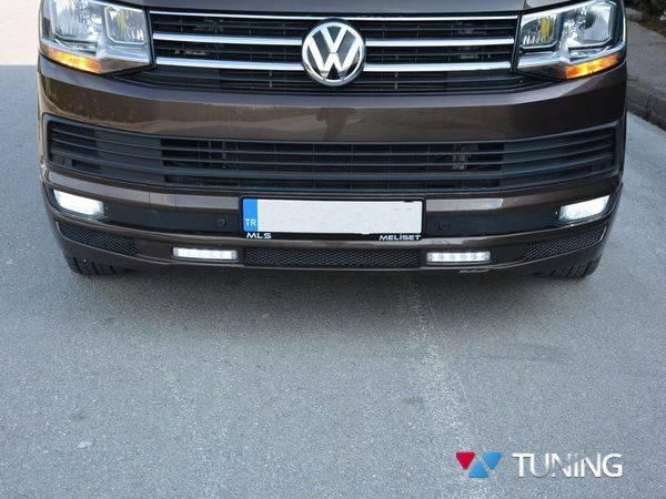 Юбка передняя VW T6 (2015-) - ABT с диодами