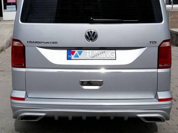 Задняя накладка VW T6 (2015-) - SPORT стиль