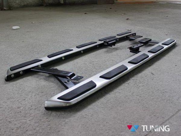 Пороги боковые AUDI Q3 (2011-) оригинал стиль