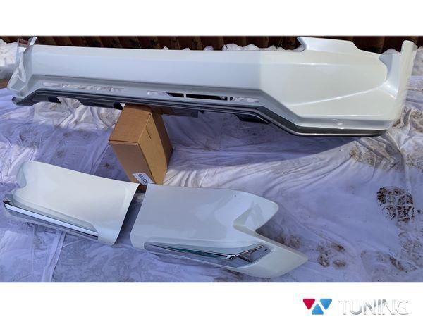 Накладки передняя и задняя TOYOTA Prado 150 (2017+) - JAOS стиль 4