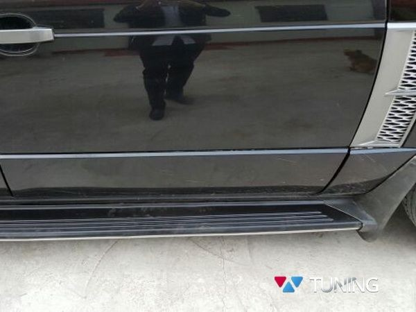 Пороги боковые Range Rover III / L322 Vogue - OEM оригинал - фото 3