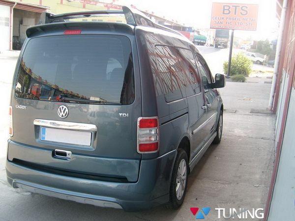"""Накладки на боковые пороги VW Caddy III (2004-) """"DJUZ"""""""