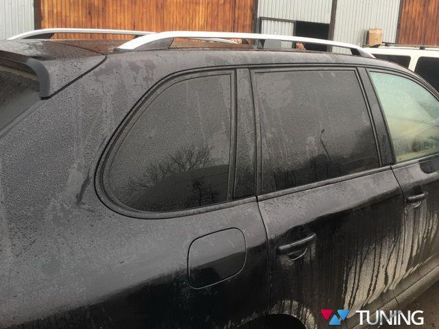 """Рейлинги VW Touareg I (2002-2010) """"CROWN"""" серые"""