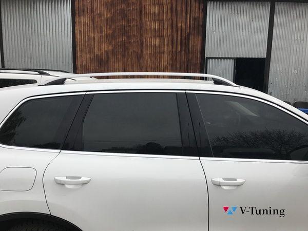 Рейлинги на крышу VW Touareg II (2010-2018) - SKYPORT стиль 4