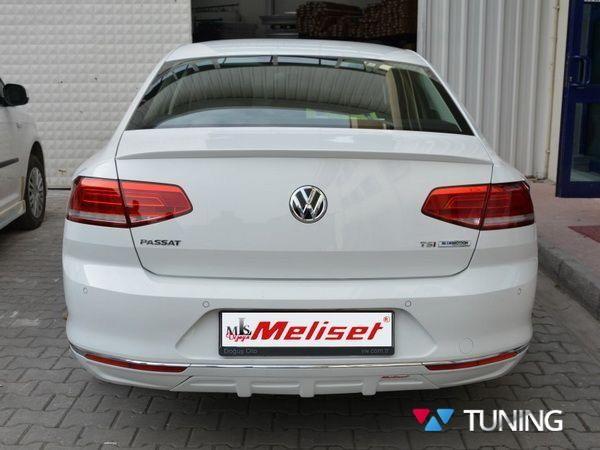 Лип спойлер багажника VW Passat B8 (2015-) Sedan