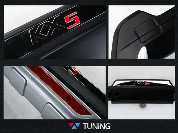 Накладка на задний бампер KIA Sportage 4 IV QL - KX5 6