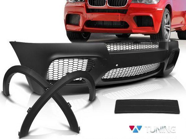 Бампер передний и арки BMW X5 E70 рестайл - M Style - фото #5