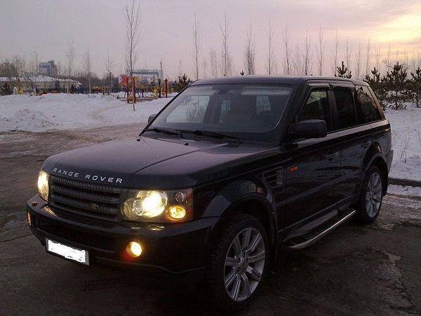 Ветровики Range Rover Sport (2005-) 5D COBRA
