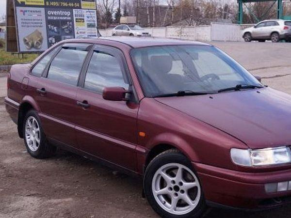 Ветровики VW Passat B4 3A (93-97) 4D Sedan COBRA