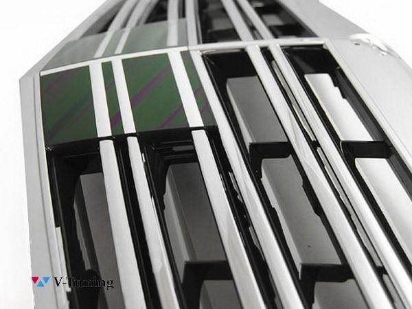 Решётка радиатора MERCEDES W221 (09-13) рестайл - S65 AMG стиль 3