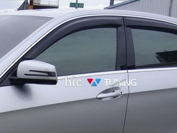 Ветровики MERCEDES E W212 Combi - HIC на скотче 1