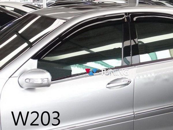 Ветровики MERCEDES S203 Combi - HIC (дефлекторы окон) 1