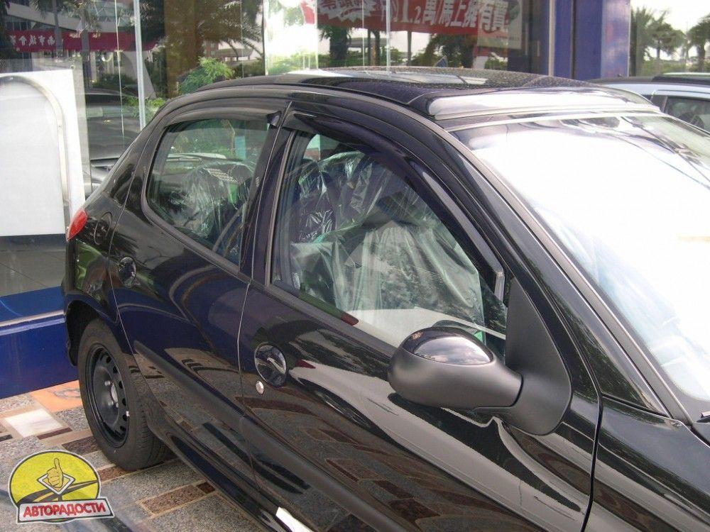 Ветровики PEUGEOT 206 (1998-) 5D Hatchback HIC