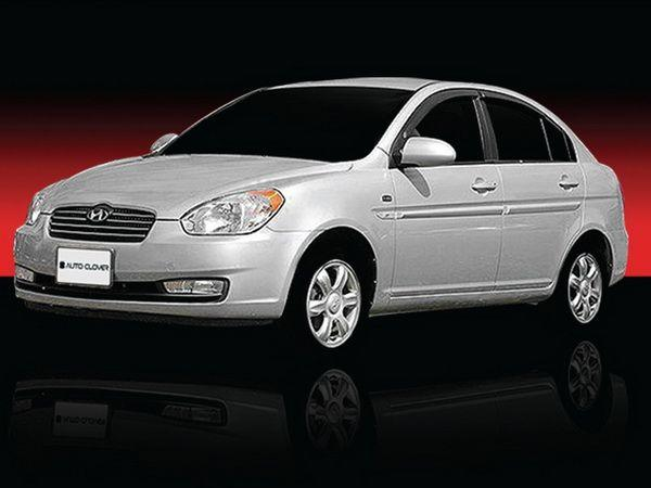 Ветровики HYUNDAI Accent III (2006-2009) Sedan CLOVER 2