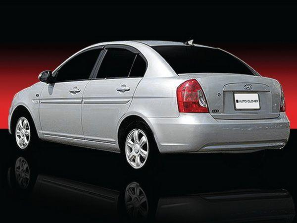 Ветровики HYUNDAI Accent III (2006-2009) Sedan CLOVER 3
