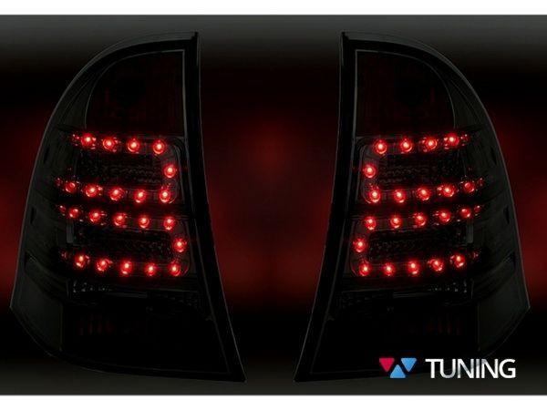 Фонари задние MERCEDES W203 Combi - красные диодные 3