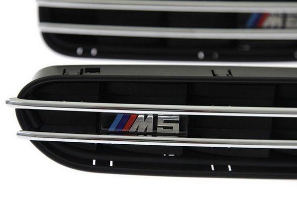 """Решётки в крылья BMW 5 E60 / E61 (03-10) """"M5"""""""