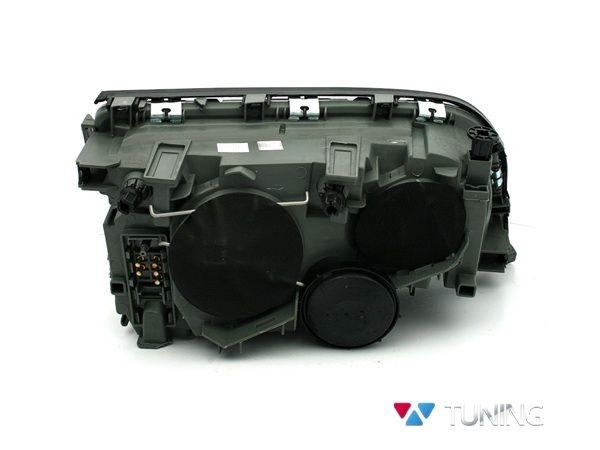 Фары передние чёрные MERCEDES W140 - линзовые - вид сзади