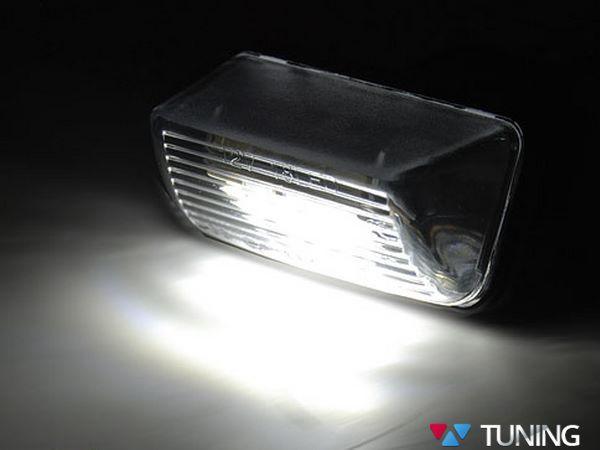 Подсветка заднего номера PEUGEOT 206 LED диодная 2