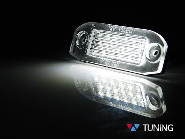 Диодная подсветка номера VOLVO XC60 I (2008-2013) - фото #3