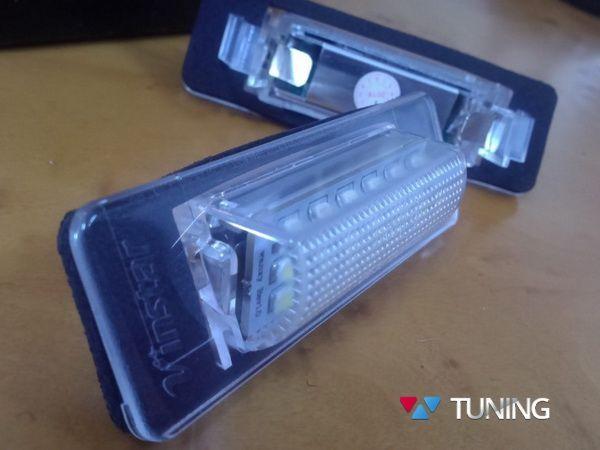 Подсветка номера LED MERCEDES W210, W202 Sedan 2