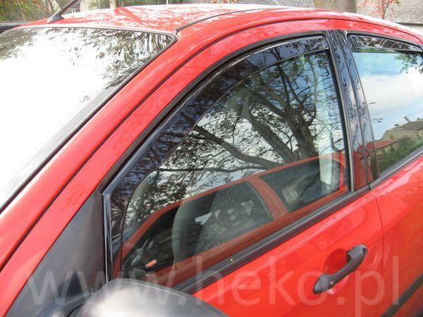 Ветровики FIAT Grande Punto (2005-) 5D HEKO