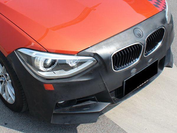 """Бампер передний BMW 1 F20 / F21 (11-15) """"M-Tech"""" без противотуманок"""