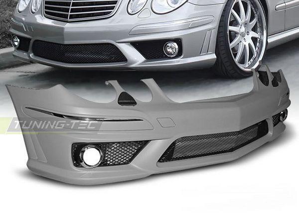 "Бампер передний ""E63"" MERCEDES E W211 FL (06-09)"