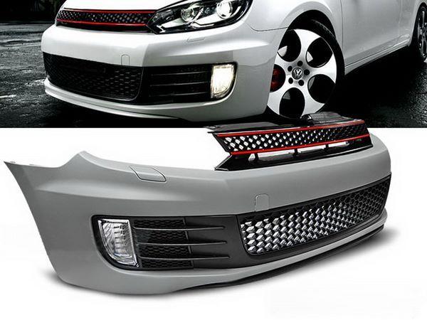 """Бампер передний VW Golf VI (08-12) """"GTI STYLE"""" без АПС"""
