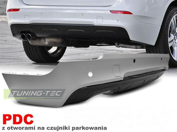 Бампер задний BMW X1 E84 (09-13) - М-Пакет