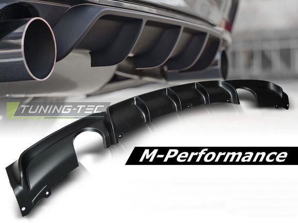 Задний диффузор на 2 выхлопа M-Performance BMW F30 (12-) Sedan